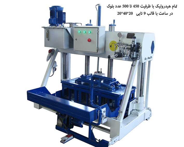 CONCRETE BLOCK MACHINE Model 615